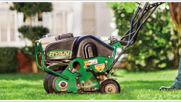 Fall Seeding and Aeration in PA | Bluegrass Lawn Care