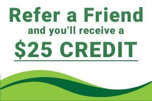 Refer a Friend Bluegrass Lawn Care